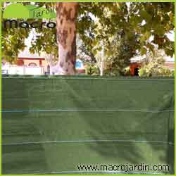 Malla ocultaci n o sombreo verde 100 1 5 x 50 m portes - Malla ocultacion total ...