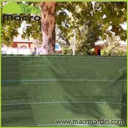 Malla ocultaci�n o sombreo verde 100% 4 X 50 m. (PORTES GRATIS)