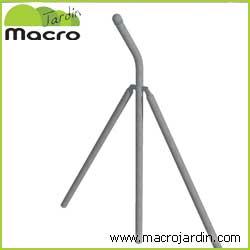 Poste refuerzo para simple torsion con espinos de 1m. de altura (1,45m + Codo)