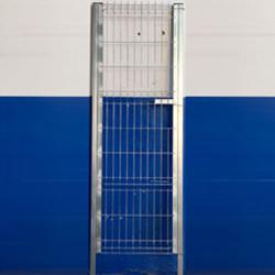 Puerta peatonal electrosoldada plegada 2m. Modelo Multiusos