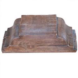 Capitel de hormigon imitacion a madera serie Granada