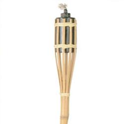 Antorcha de bambu de 150 cm. de altura.
