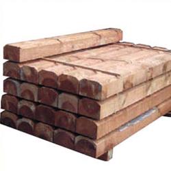 Traviesa madera tratada de 200 X 20 X 10 cm.