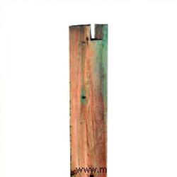 Poste pecho palomo para pergola 12 X 12 X 250 cm. de largo