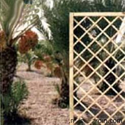 Panel de celosia recto 45 X 180 cm. 4 de cuadricula