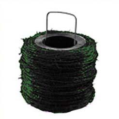 Carrete de alambre de espino plastificado
