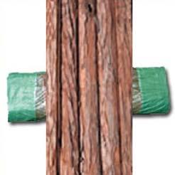 Corteza natural doble cara 1 X 5 m.