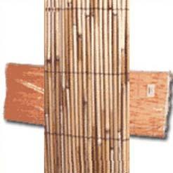 Cañizo de bambu chino natural 1,50 X 5 m.
