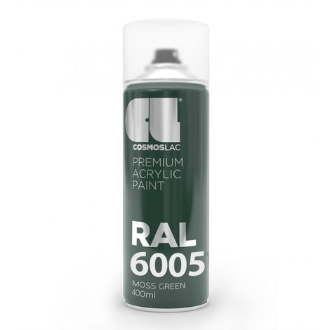 Spray RAL 6005 Pintura Verde 400ml.