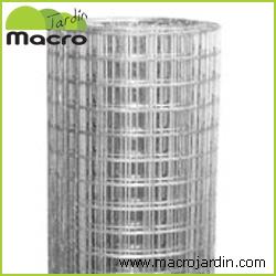 Rollo malla cuadrada electrosoldada galvanizada 19 0 mm - Malla electrosoldada galvanizada ...