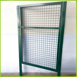Puerta peatonal simple torsion 1X1,5m alto galvanizada