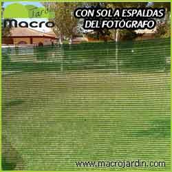 Malla ocultacion o sombreo verde 95% 1 X 50 m. (PORTES GRATIS)