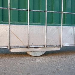 Puerta corredera 4 X 1.5 m.