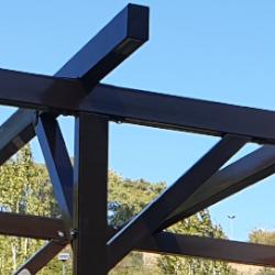 Pergola 3x3 m. Metalica