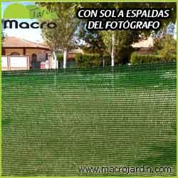 Malla ocultacion o sombreo verde 95% 2 X 100 m. (PORTES GRATIS)