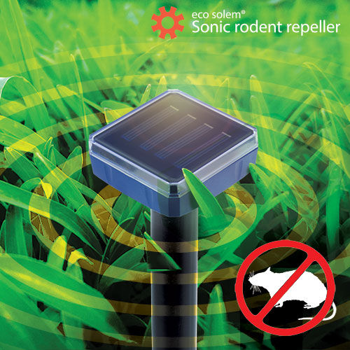 OUTLET Repelente Solar de Roedores Eco Solem (Sin Embalaje)