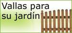 vallas para jardín